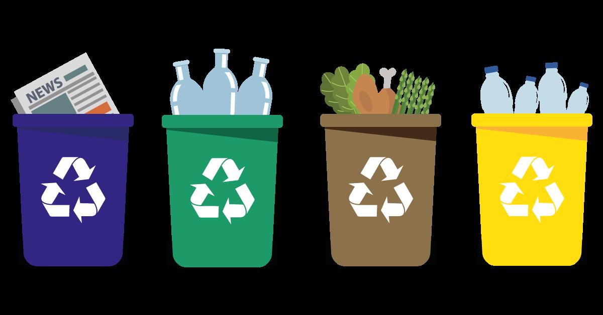sanificazione contenitori per la raccolta differenziata ddteam